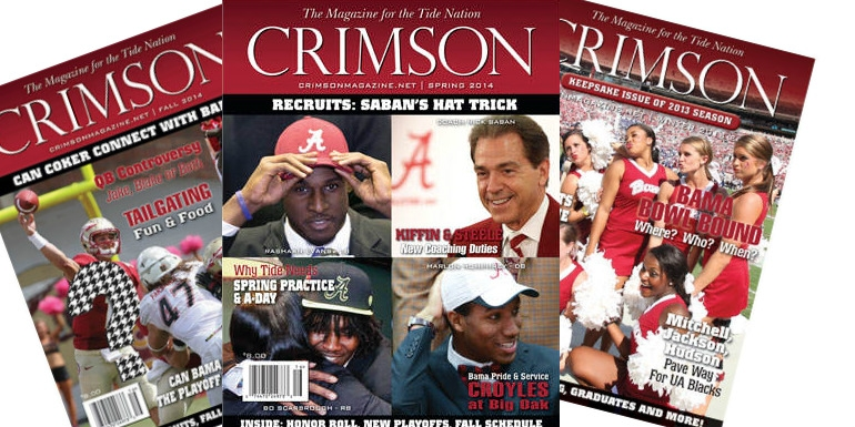 Crimson Magazine Premium Subscription - $40 Value for $20