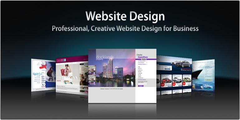 Modern Website Design - $1600 value for $800