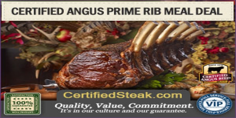 Great finds at Certified Steak and Seafood Company - Six Bone Angus Prime Rib (Promotional)