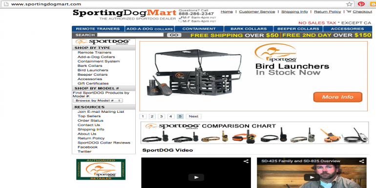 Great deals from Sporting Dog Mart (Promotional)